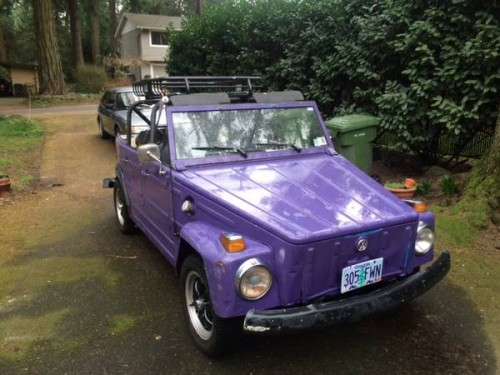 1973 VW Thing 4 cylinders Manual For Sale in Lake Oswego ...