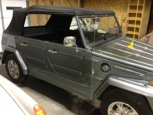Slo Craigslist: 1973 VW Thing 4 Cylinders Manual For Sale In Tri Cities