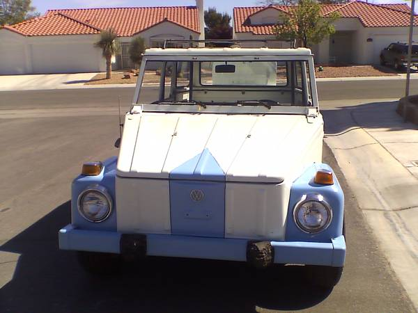 1974 VW Thing 1735 CC For Sale in Las Vegas Nevada $11 5K