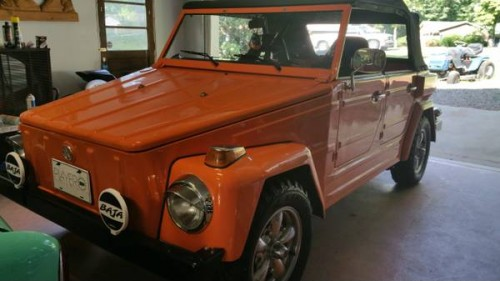1973 VW Thing Manual For Sale in Winston-Salem, North ...