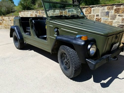 1973 Vw Thing 1600cc Manual For Sale In Boerne Texas