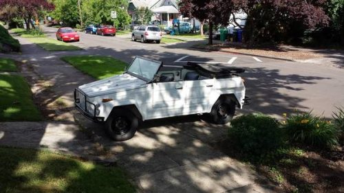 1974 VW Thing Manual For Sale in Portland, Oregon - $9,500