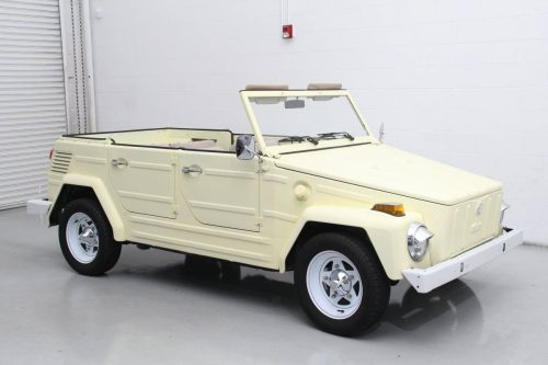 1973 VW Thing 1641cc V4 Manual For Sale in Sacramento ...